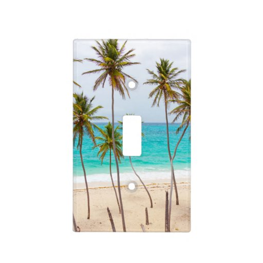Tropical Beach Light Switch Plates Zazzle