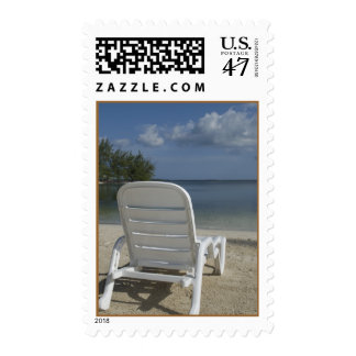 Tropical Beach Lounge Chair Postage