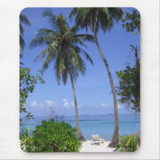 Tropical Beach Mouse Pad