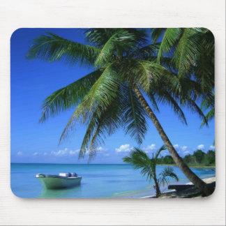 Tropical Beach Mousepad
