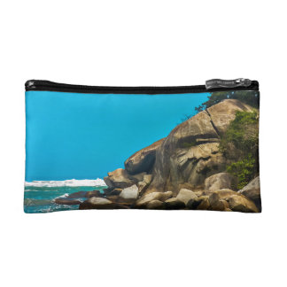 Tropical Beach of Tayrona National Park Cosmetic Bags