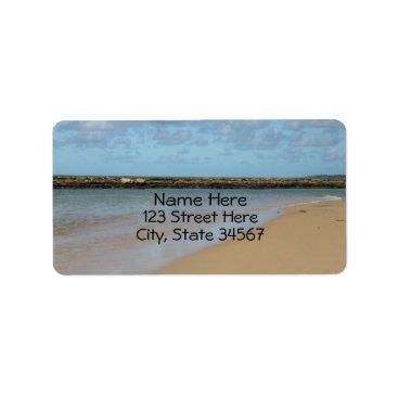 Beach Themed Tropical Beach Paradise Address Labels