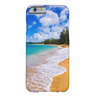 Tropical beach paradise, Hawaii Barely There iPhone 6 Case