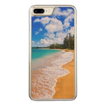 Beach Themed Tropical beach paradise, Hawaii Carved iPhone 7 Plus Case