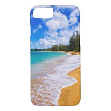 Beach Themed Tropical beach paradise, Hawaii iPhone 7 Case