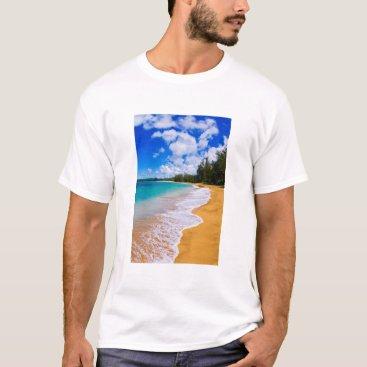 Beach Themed Tropical beach paradise, Hawaii T-Shirt
