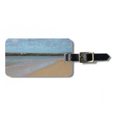 Beach Themed Tropical Beach Paradise Luggage Tag