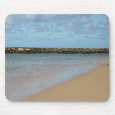 Beach Themed Tropical Beach Paradise Mouse Pad