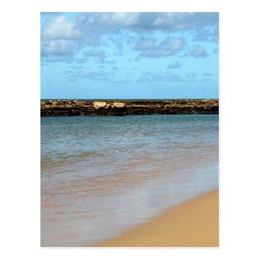 Beach Themed Tropical Beach Paradise Postcard