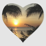 Tropical Beach Paradise Stickers