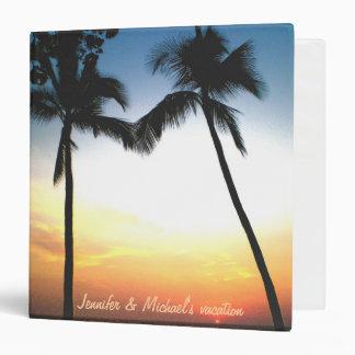 Tropical Beach Photo Album Binders