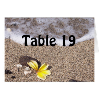 Tropical Beach Place Setting Name Cards