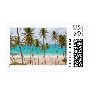 Tropical Beach Postage