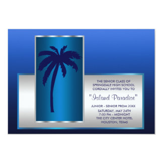 Tropical Beach Prom Invitations