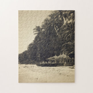 Tropical Beach Puzzle