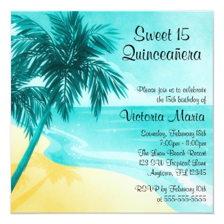 Beach Birthday Invitations & Announcements | Zazzle