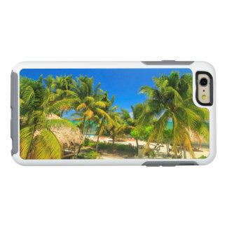 Tropical beach resort, Belize OtterBox iPhone 6/6s Plus Case