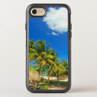 Tropical beach resort, Belize OtterBox Symmetry iPhone 8/7 Case