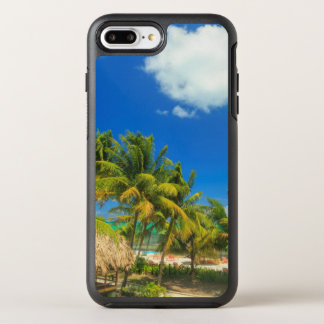 Tropical beach resort, Belize OtterBox Symmetry iPhone 8 Plus/7 Plus Case