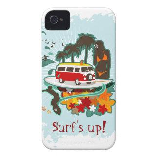 Tropical Beach Scene Case-Mate iPhone 4 Cases