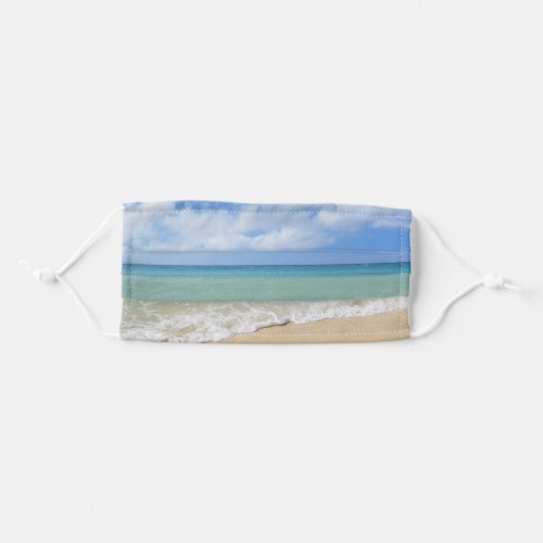 Tropical Beach Sea Ocean Waves Adult Cloth Face Mask
