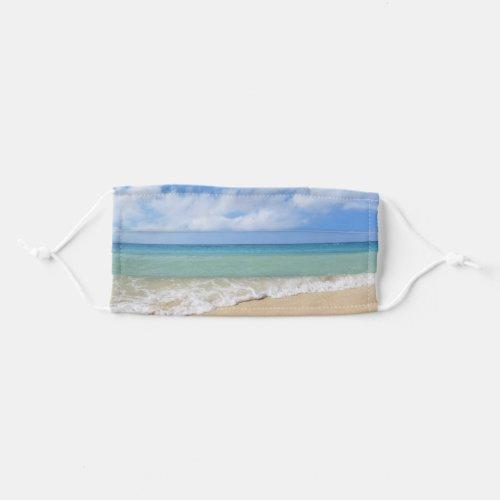 Tropical Beach Sea Ocean Waves Cloth Face Mask