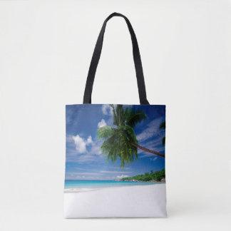Tropical Beach   Seychelles Tote Bag