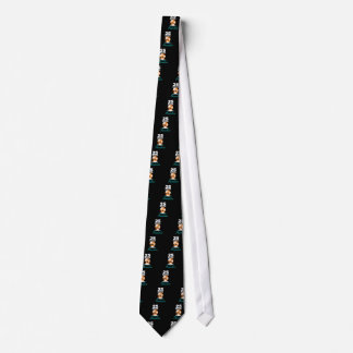 Tropical Beach Silver 25th Wedding Anniversary Tie
