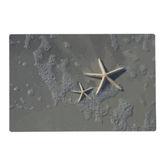 Tropical Beach Starfish Laminated Placemat
