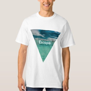 Beach Themed Tropical Beach T-Shirt