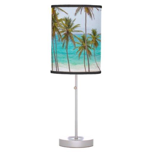 Tropical Beach Table Lamp Zazzle
