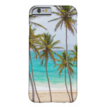 Tropical Beach Theme Barely There iPhone 6 Case