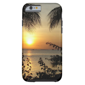 Tropical Beach Tough iPhone 6 Case