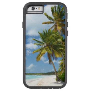 Beach Themed Tropical Beach Turquoise Water and Coastal Palms Tough Xtreme iPhone 6 Case