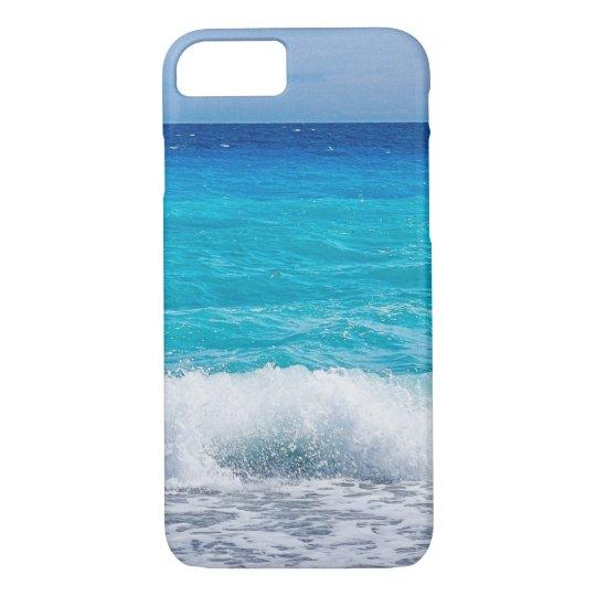 Tropical Beach Turquoise Water Blue Ocean Sea Foam Case Mate Iphone Case