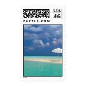 tropical Beach Umbrella stamp