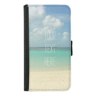 Tropical Beach Vacation Customizable Quote