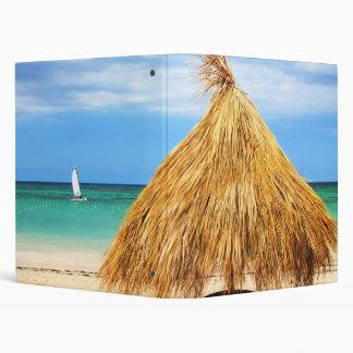 Tropical beach vinyl binders