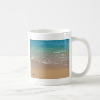 Tropical Beach - Waikiki, Oahu, Hawaii Coffee Mug