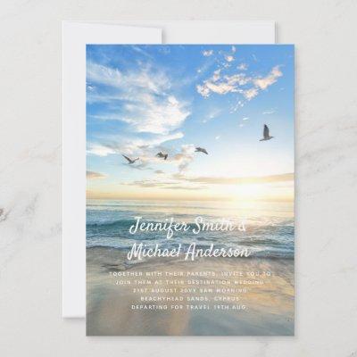 Tropical Beach Wedding Abroad Photo Modern Ocean