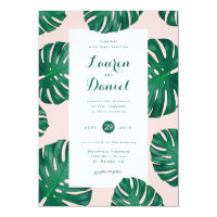 Tropical Beach Wedding Invitation | 5