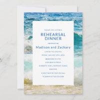 Tropical Beach Wedding Rehearsal Dinner