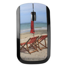 Tropical Beach Wireless Mouse at Zazzle