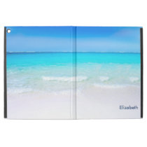 "Tropical Beach with a Turquoise Sea Custom iPad Pro 12.9"" Case"