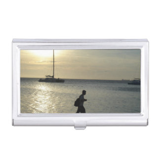 Tropical Beaches Business Card Cases
