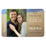 Tropical Beaches, Photo Save the Date Magnet