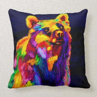 Tropical Bear Throw Pillows