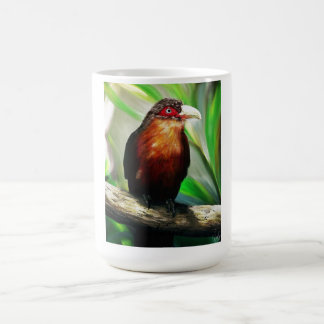 Tropical Bird cool colourful exotic painting Classic White Coffee Mug