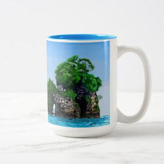 Tropical Bird Island Mug by Yotigo