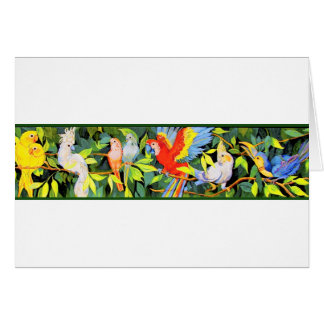 Tropical Bird Note Cards